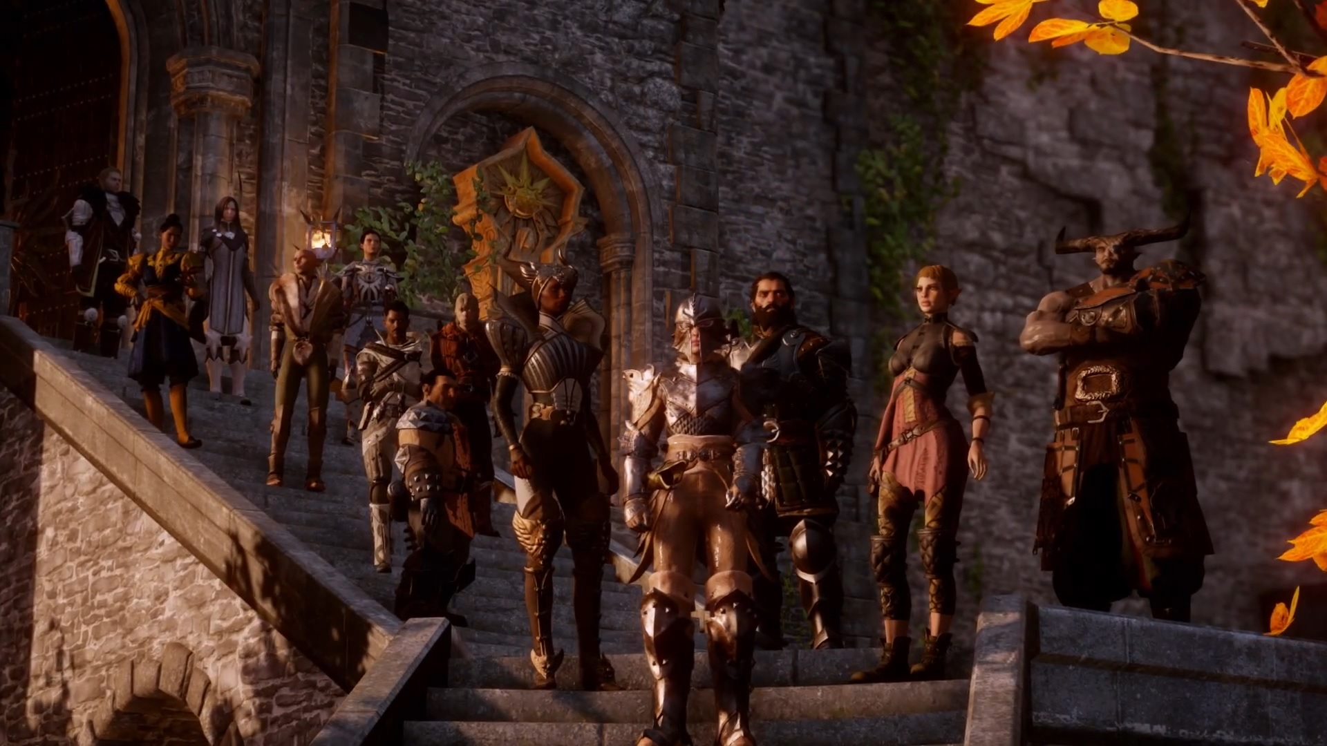 Dragon Age Inquisition Characters Leak Dragon Age Inquisition
